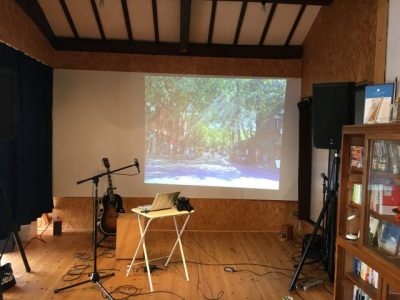 迫水秀樹inワラシカフェ 旅の歌と写真